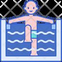 Hydrotherapy Bathtub Bathing Icon