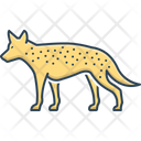 Hyena Danger Mammal Icon