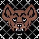 Hyena Mascot Hyena Face Hyena Icon
