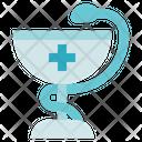 Pharmacy Hygeia Medical Icon