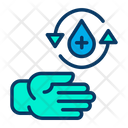 Clean Drop Hand Icon