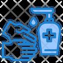 Hygiene Covid Hand Icon
