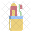 Hygienetoothbrush And Tooth Paste Tooth Brush Tooth Paste Icon