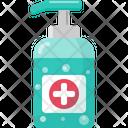 Hygienic Gel Alchohol Hygiene Icon