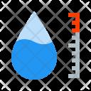 Hygrometer Water Drop Icon