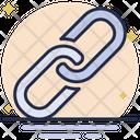 Hyperlink Link Link Building Icon