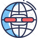 Hyperlink Communication Media Icon