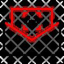 Hyperlink Mail Icon