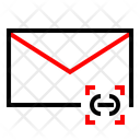Mail Hyperlink Message Icon