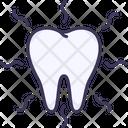 Hypersensitive Teeth Dental Icon