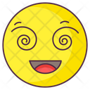 Hypnotized Emoji Icon