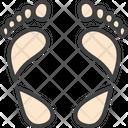 Hypoprony Foot Print Hyperpronation Icon