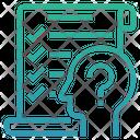 Hypothesis Testing Statistical Analysis Testing Icon
