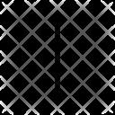 I Alphabet Sign Icon