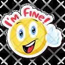 I Am Fine Icon