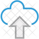 Cloud Network Upload Icon