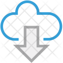 Cloud Network Download Icon