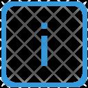 Key I Lower Icon
