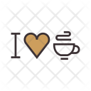 I love coffee Icon