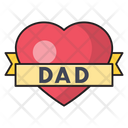 Dad Fatherday Love Icon