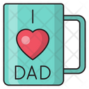 Ilovedad Fatherday Cup Icon