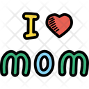 Love Mom Mother Icon