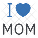 Love Mom Motherday Icon