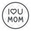 I Love Mom Icon