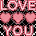 I Love You Icon