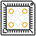 Ic Voltage Socket Icon