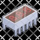 Integrated Circuit Ic Circuit Electric Circuit Icon