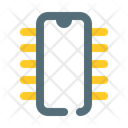 Ic integrated circuit robot Icon