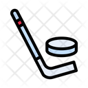 Ice Hockey Stick Icon