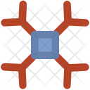 Ice Flake Crystal Icon