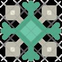 Ice Flake Crystal Icon