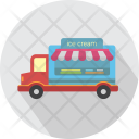 Ice Cream Car Icon