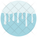 Ice Cloud Weather Icon
