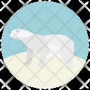 Ice Bear White Icon