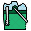 Ice Box Food And Restaurant Tools And Utensils Icon