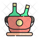Cold Drink Metal Icon