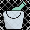 Ice Bucket Ice Bucket Icon