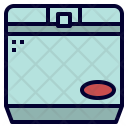 Ice Box Camping Icon