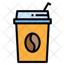 Ice Coffee Coffee Takeaway Cup Icon