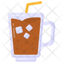 Cold Coffee Ice Coffee Drink Icon