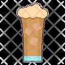 Ice Coffee Glass Icon