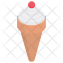 Ice Cone Ice Cream Frozen Food Icon