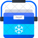Ice Container Ice Bucket Ice Basket Icon