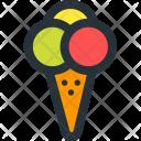Ice, Cream Icon