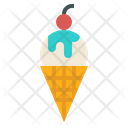 Ice Cream Sweet Icon