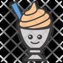 Ice Cream Emoji Ice Cream Sweet Icon